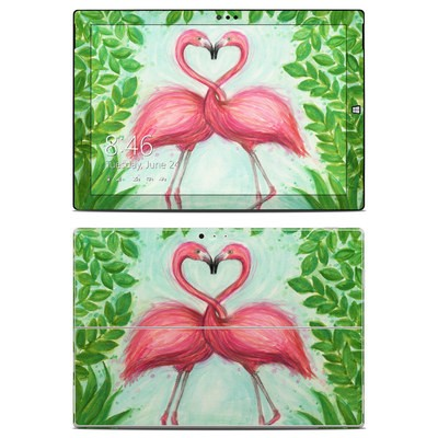 Microsoft Surface Pro 3 Skin - Flamingo Love