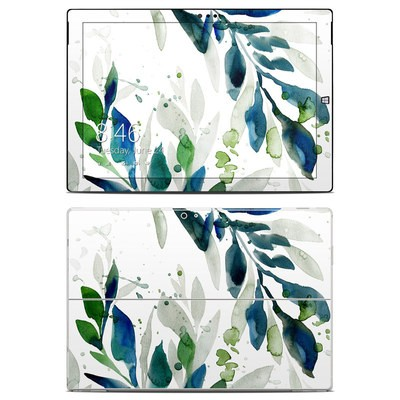 Microsoft Surface Pro 3 Skin - Floating Leaves