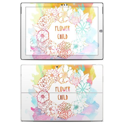 Microsoft Surface Pro 3 Skin - Flower Child