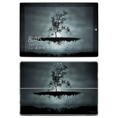 Microsoft Surface Pro 3 Skin - Flying Tree Black