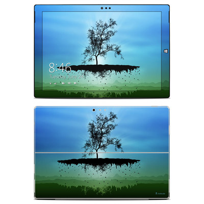 Microsoft Surface Pro 3 Skin - Flying Tree Blue
