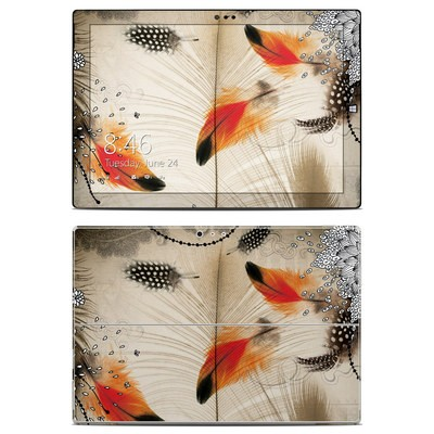 Microsoft Surface Pro 3 Skin - Feather Dance
