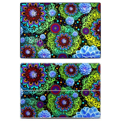 Microsoft Surface Pro 3 Skin - Funky Floratopia