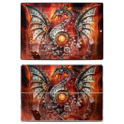 Microsoft Surface Pro 3 Skin - Furnace Dragon