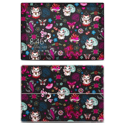 Microsoft Surface Pro 3 Skin - Geisha Kitty