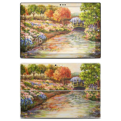 Microsoft Surface Pro 3 Skin - Giverny Forever