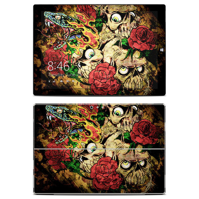 Microsoft Surface Pro 3 Skin - Gothic Tattoo