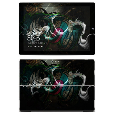 Microsoft Surface Pro 3 Skin - Graffstract