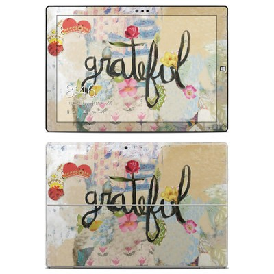 Microsoft Surface Pro 3 Skin - Grateful