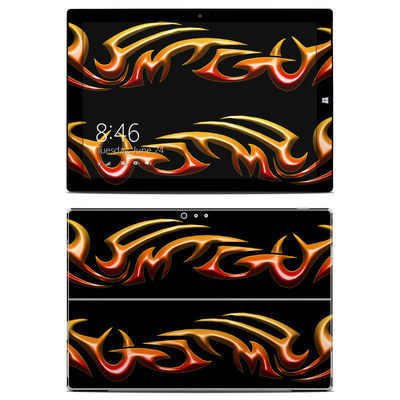 Microsoft Surface Pro 3 Skin - Hot Tribal