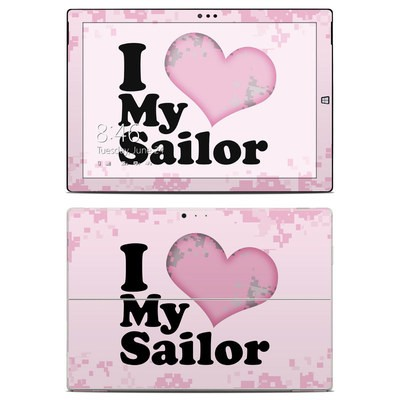 Microsoft Surface Pro 3 Skin - I Love My Sailor