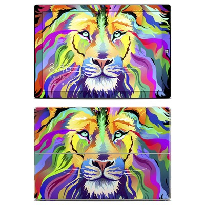 Microsoft Surface Pro 3 Skin - King of Technicolor
