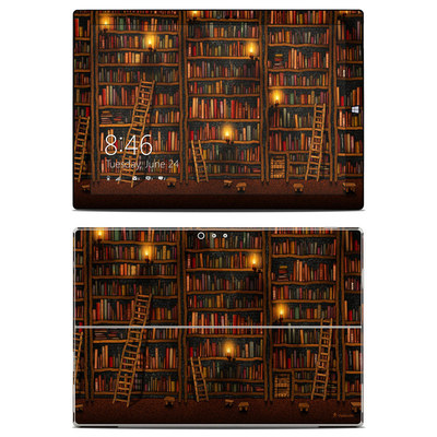 Microsoft Surface Pro 3 Skin - Library
