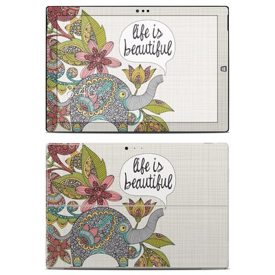 Microsoft Surface Pro 3 Skin - Life is Beautiful