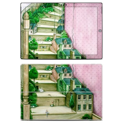 Microsoft Surface Pro 3 Skin - Living Stairs