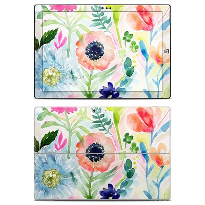 Microsoft Surface Pro 3 Skin - Loose Flowers