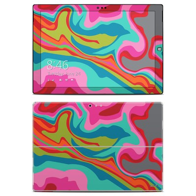 Microsoft Surface Pro 3 Skin - Marble Bright