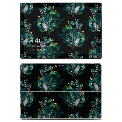 Microsoft Surface Pro 3 Skin - Night Seaflower