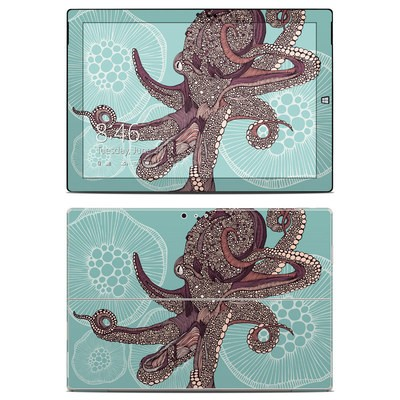 Microsoft Surface Pro 3 Skin - Octopus Bloom