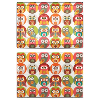 Microsoft Surface Pro 3 Skin - Owls Family
