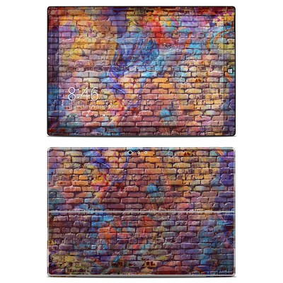 Microsoft Surface Pro 3 Skin - Painted Brick