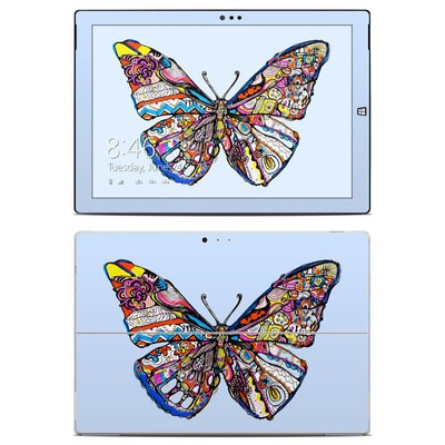 Microsoft Surface Pro 3 Skin - Pieced Butterfly