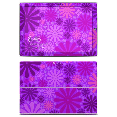 Microsoft Surface Pro 3 Skin - Purple Punch
