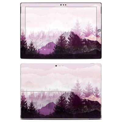 Microsoft Surface Pro 3 Skin - Purple Horizon