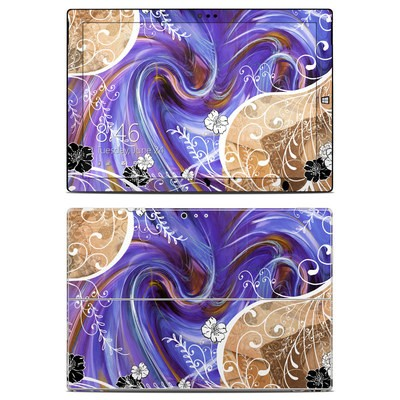 Microsoft Surface Pro 3 Skin - Purple Waves