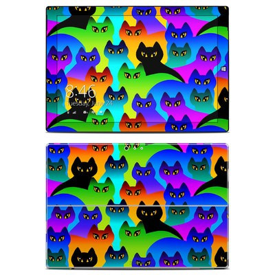 Microsoft Surface Pro 3 Skin - Rainbow Cats