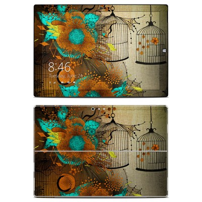 Microsoft Surface Pro 3 Skin - Rusty Lace