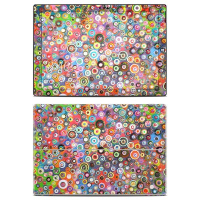 Microsoft Surface Pro 3 Skin - Round and Round