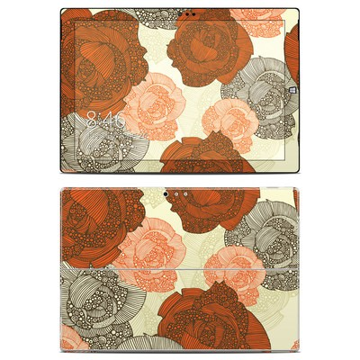 Microsoft Surface Pro 3 Skin - Roses