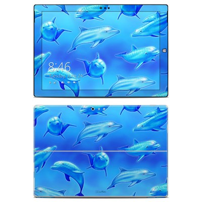 Microsoft Surface Pro 3 Skin - Swimming Dolphins