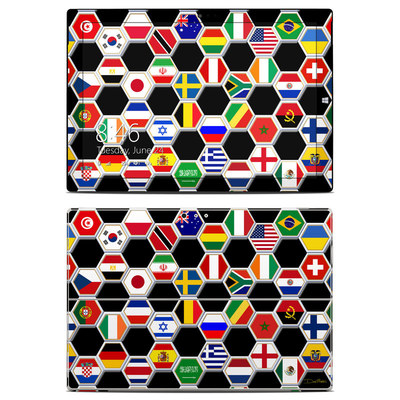 Microsoft Surface Pro 3 Skin - Soccer Flags