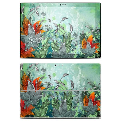 Microsoft Surface Pro 3 Skin - Sea Flora