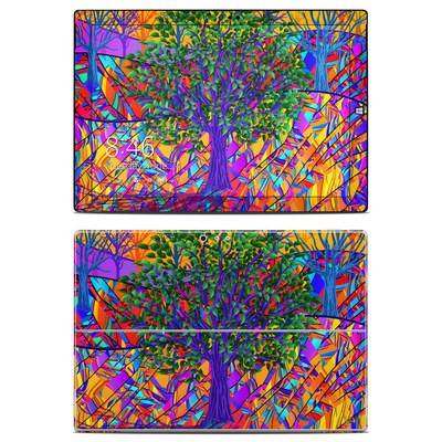 Microsoft Surface Pro 3 Skin - Stained Glass Tree