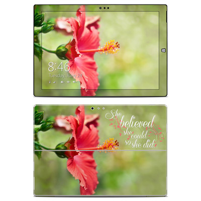 Microsoft Surface Pro 3 Skin - She Believed