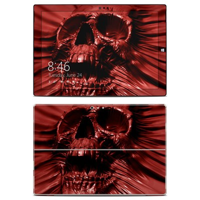 Microsoft Surface Pro 3 Skin - Skull Blood