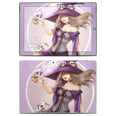 Microsoft Surface Pro 3 Skin - Skull Witch