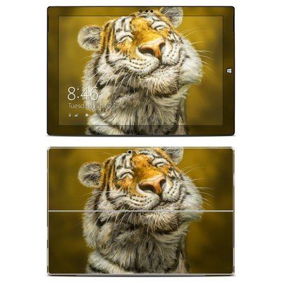 Microsoft Surface Pro 3 Skin - Smiling Tiger