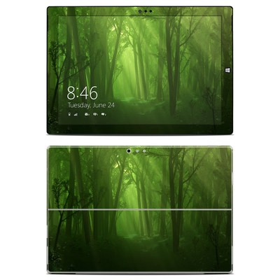 Microsoft Surface Pro 3 Skin - Spring Wood