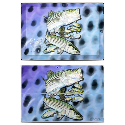 Microsoft Surface Pro 3 Skin - Striped Bass