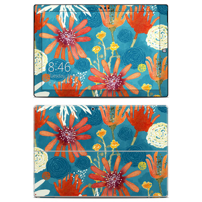 Microsoft Surface Pro 3 Skin - Sunbaked Blooms