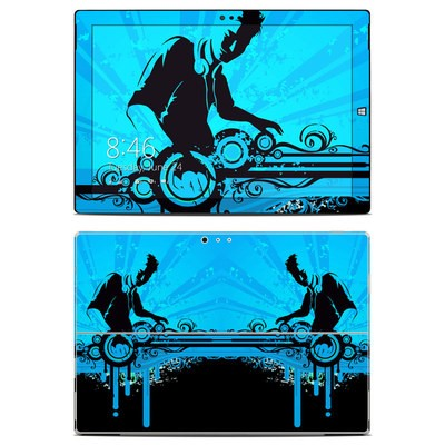 Microsoft Surface Pro 3 Skin - The DJ