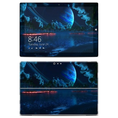 Microsoft Surface Pro 3 Skin - Thetis Nightfall