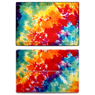 Microsoft Surface Pro 3 Skin - Tie Dyed