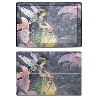 Microsoft Surface Pro 3 Skin - Twilight Lilies