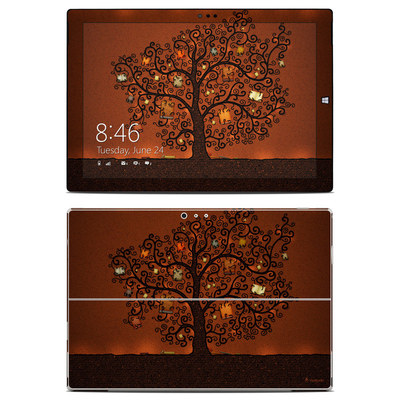 Microsoft Surface Pro 3 Skin - Tree Of Books