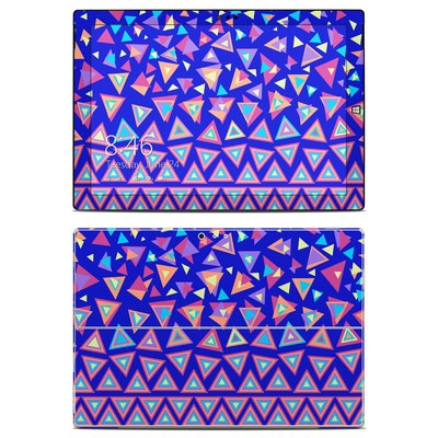 Microsoft Surface Pro 3 Skin - Triangle Dance